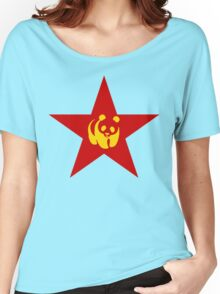 Comrade Panda - ONE:Print Women's Relaxed Fit T-Shirt