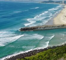 Gold Coast Coastline Sticker