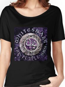 whitesnake the purple albums mojo Women's Relaxed Fit T-Shirt