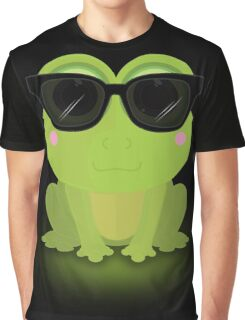 Cool Frog Graphic T-Shirt