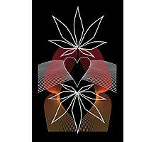 Cannabis Love Tee Photographic Print