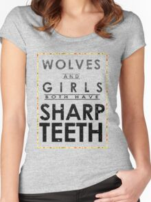 Wolves and Girls Women's Fitted Scoop T-Shirt