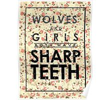 Wolves and Girls Poster