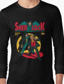 sherlock comic Long Sleeve T-Shirt