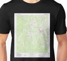 USGS TOPO Map Alabama AL Gordo 304006 1967 24000 Unisex T-Shirt