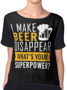 Beer T-Shirt Chiffon Top