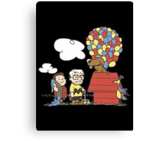 some Peanuts UP there Canvas Print