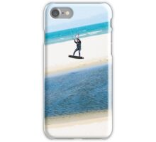 Kitesurfer boosts an air iPhone Case/Skin