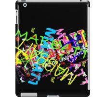 Mabbatt crazy graffiti logo iPad Case/Skin