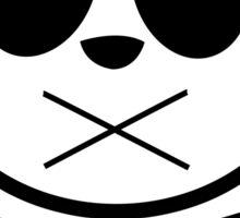 Panda Cross Bone 2 Sticker