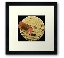 A trip to the moon (Color) Framed Print