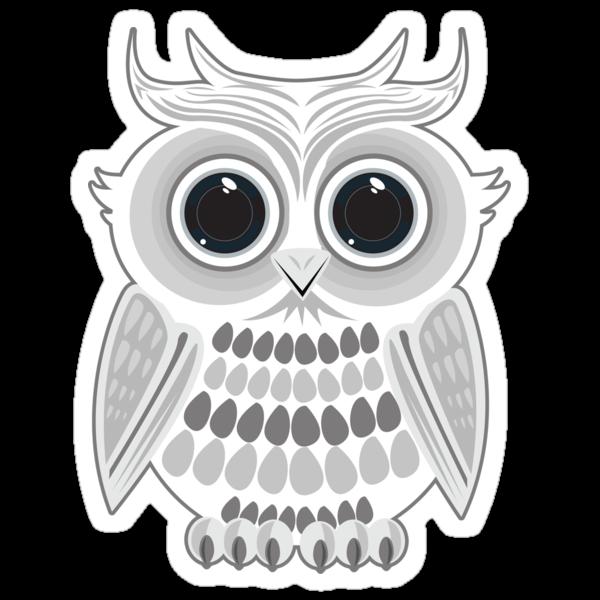 White Owl by Adamzworld