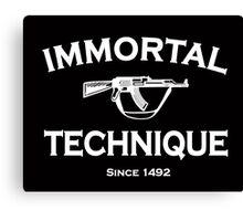 immortal technique Canvas Print