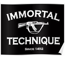 immortal technique Poster