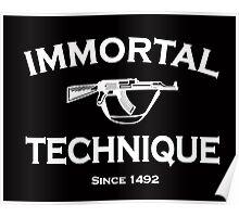 immortal technique Poster