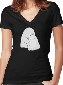Soulmates Women's Fitted V-Neck T-Shirt