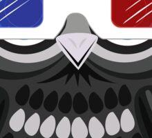Owl - 3D Glasses - White Sticker
