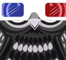 Owl - 3D Glasses Sticker
