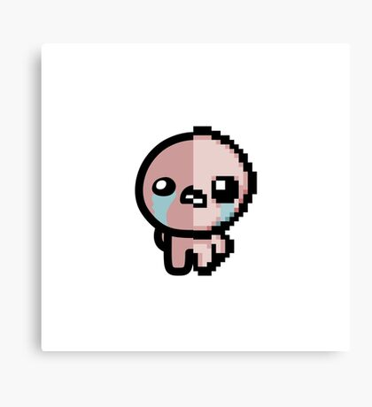 The Binding of Isaac, Two-Face Isaac Canvas Print