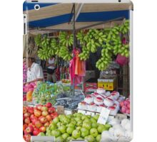Fresh Fruit stall in a market in Penang Malaysia iPad Case/Skin