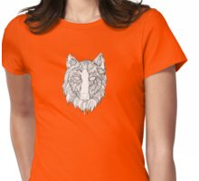 Arnou the wolf Womens Fitted T-Shirt