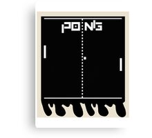 Instant Pong Canvas Print