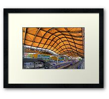 Southern Cross Station Framed Print
