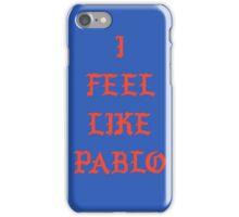 pablo logo iPhone Case/Skin