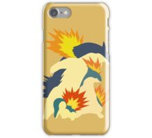 Cyndaquil Evolution iPhone Case/Skin