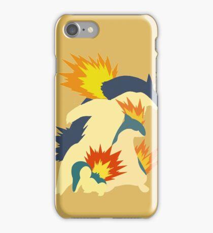 Cyndaquil Evolution iPhone Case/Skin
