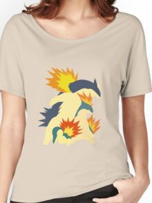 Cyndaquil Evolution Women's Relaxed Fit T-Shirt