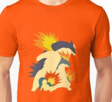 Cyndaquil Evolution Unisex T-Shirt