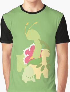 Chikorita Evolution Graphic T-Shirt