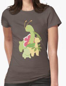 Chikorita Evolution Womens Fitted T-Shirt