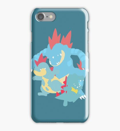 Totodile Evolution iPhone Case/Skin