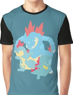 Totodile Evolution Graphic T-Shirt