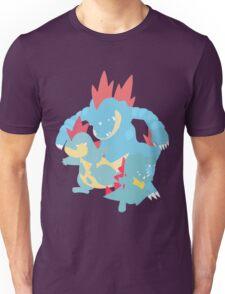Totodile Evolution Unisex T-Shirt
