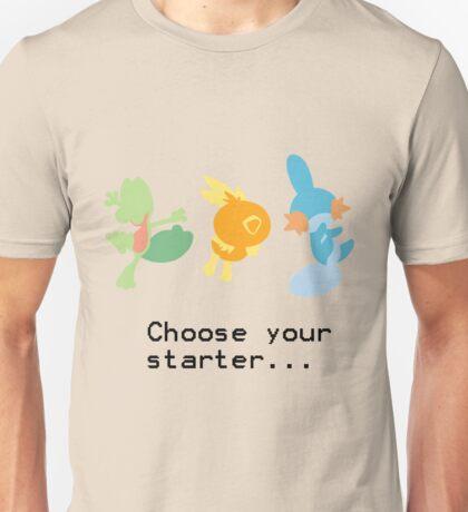 3rd Gen Starters Unisex T-Shirt