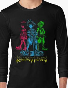 Sora Kingdom Hearts Long Sleeve T-Shirt