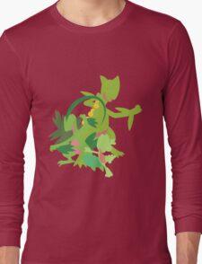Treecko Evolution Long Sleeve T-Shirt