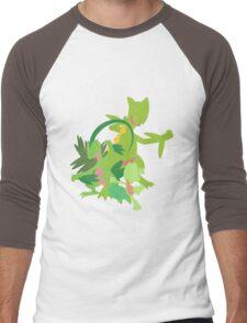 Treecko Evolution Men's Baseball ¾ T-Shirt