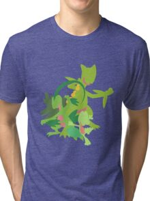 Treecko Evolution Tri-blend T-Shirt