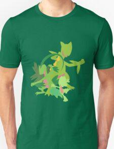Treecko Evolution Unisex T-Shirt