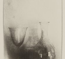 DECANTER  & GLASS by scarletjames