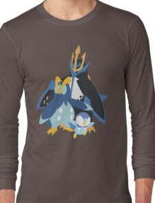 Piplup Evolution Long Sleeve T-Shirt