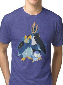 Piplup Evolution Tri-blend T-Shirt