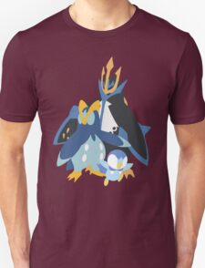 Piplup Evolution Unisex T-Shirt