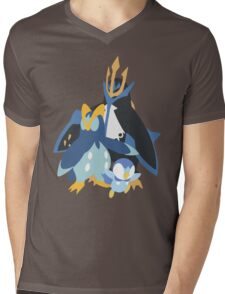 Piplup Evolution Mens V-Neck T-Shirt