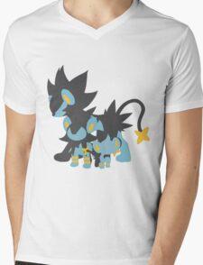 Shinx Evolution Mens V-Neck T-Shirt