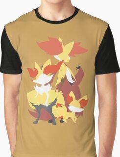 Fennekin Evolution Graphic T-Shirt